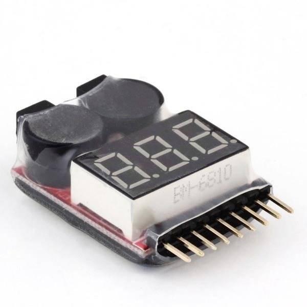 Alarm Buzzer LiPo / Li-Ion / LiMn / Li-Fe 1-8S