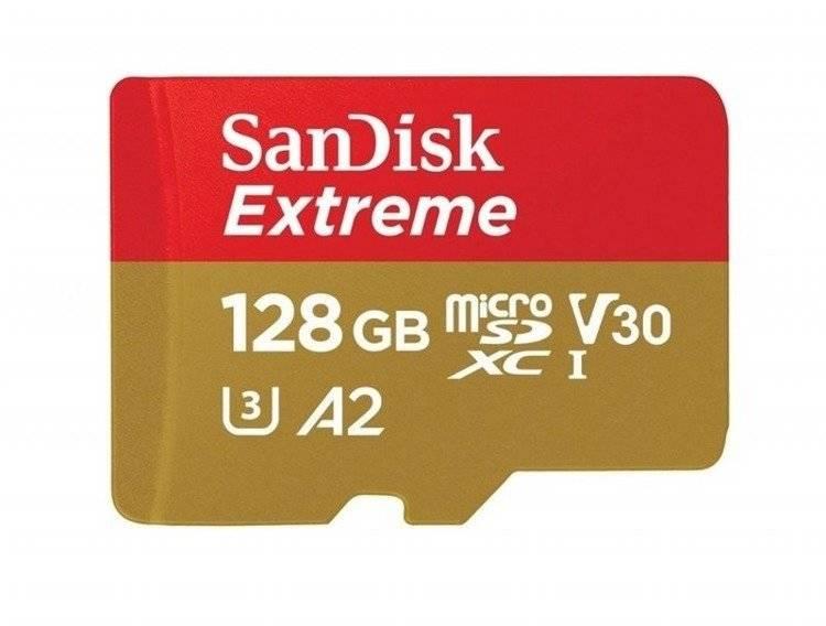 Karta pamięci SanDisk microSDXC 128GB Drony / GoPro (klasa A2)